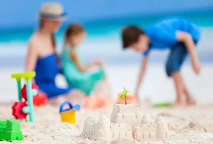Adult Sand Castle