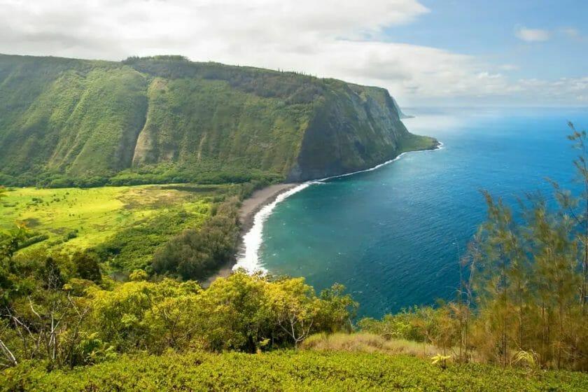Waipio Valley Beach, Big Island Hawaii